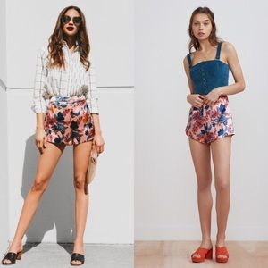 Finders Keepers / Rhapsody Satin Floral Shorts